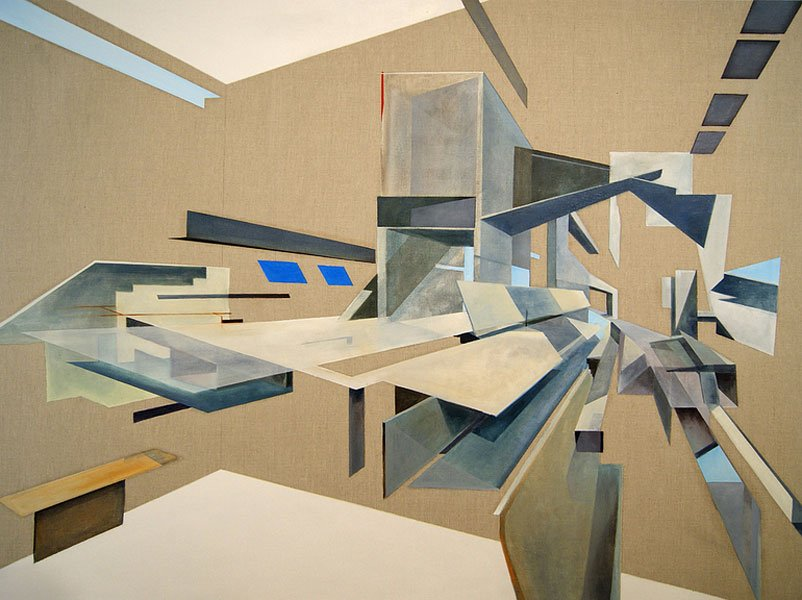Daniel Mullen Paintings - The Architect