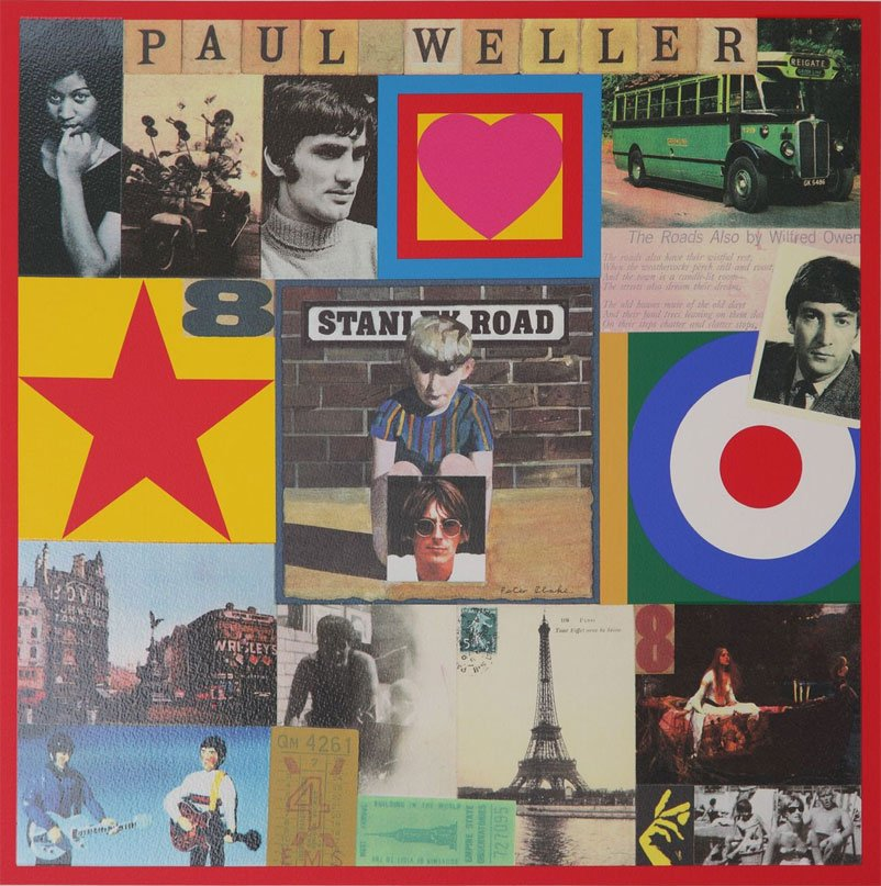 Peter Blake Prints - Paul Weller's Stanley Road