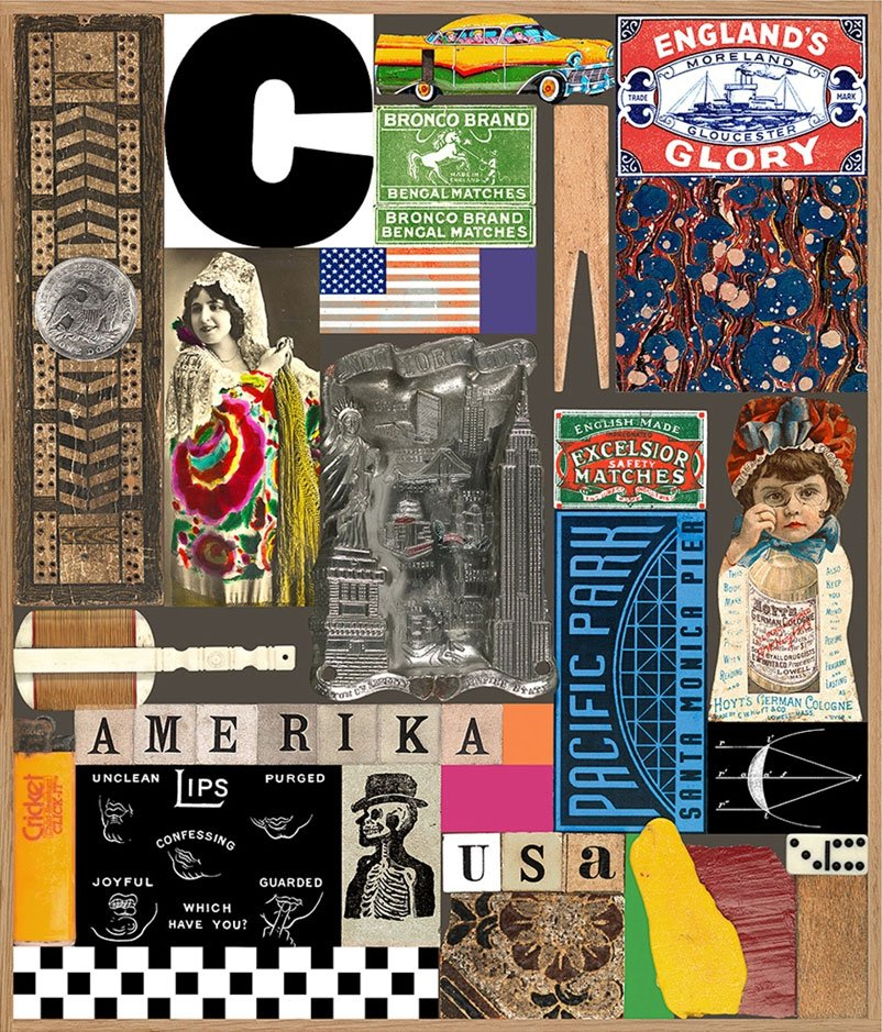 Peter Blake - USA Series - Pacific Park