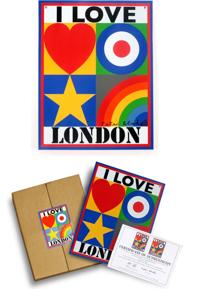 Peter Blake - I Love London