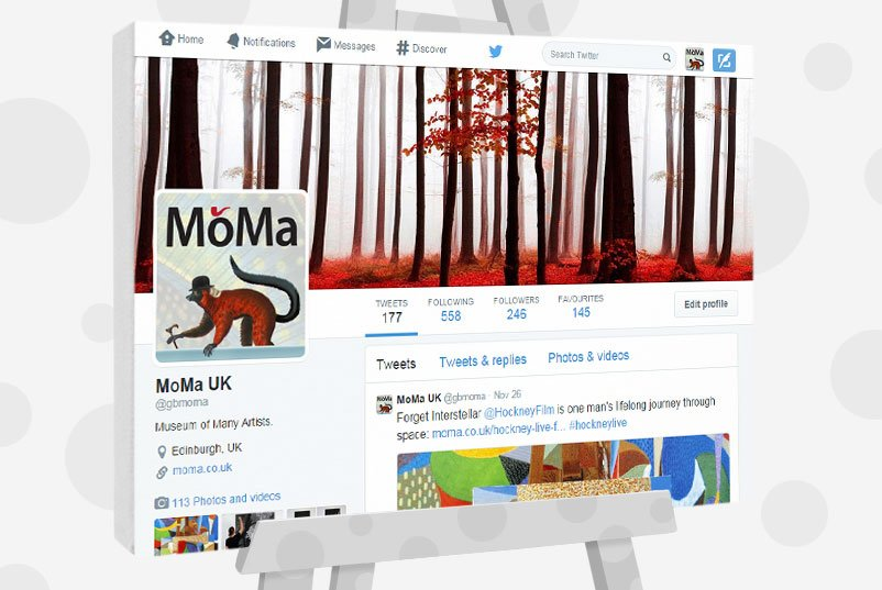 Buy Original Art - Moma on Twitter
