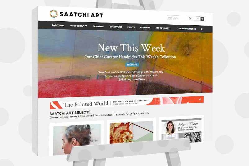 10 different ways to sell your art online in 2017 for Buy and sell paintings online