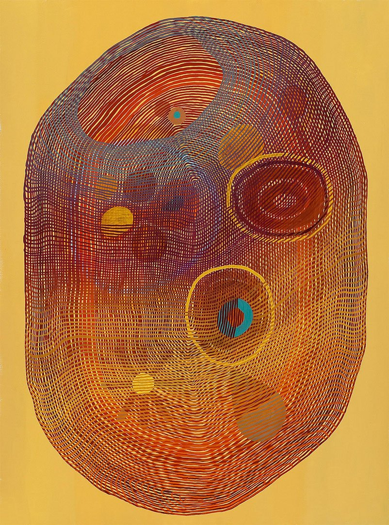 Jenny Kemp Paintings Of Organic Lines Amp Shapes Moma Uk