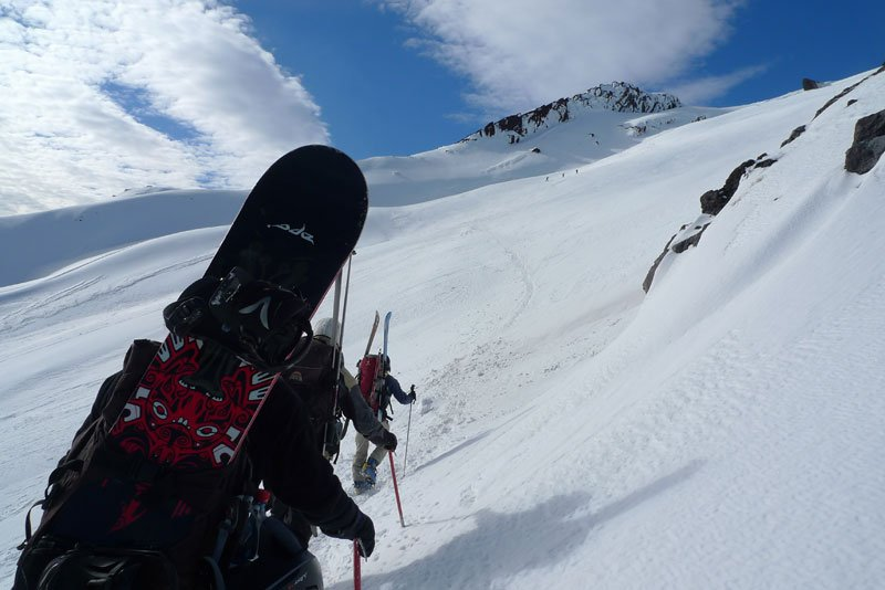 Villarrica climb
