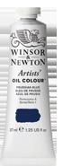 art supplies - prussian blue oil paint