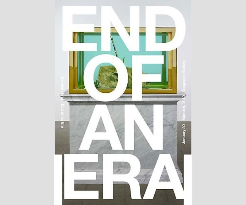 Damien Hirst - End Of An Era (B) Signed Poster