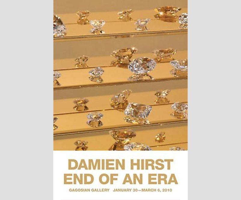 Damien Hirst - End Of An Era Poster