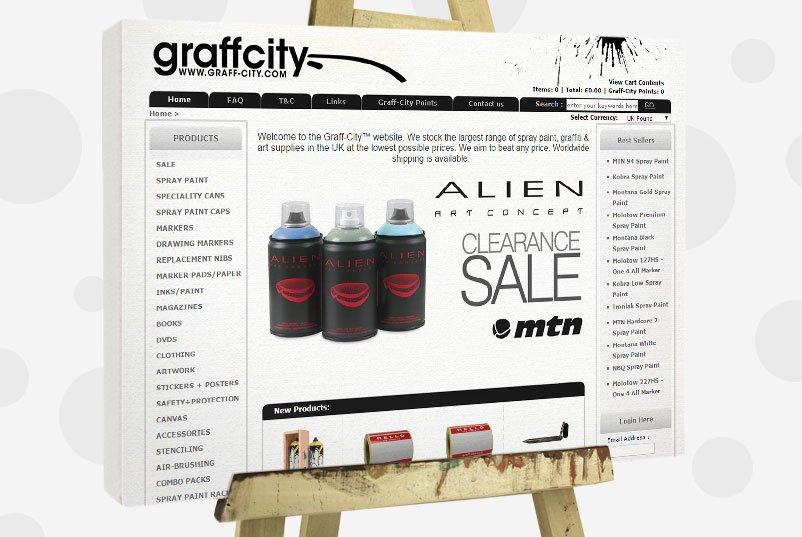 Buy Graffiti Supplies