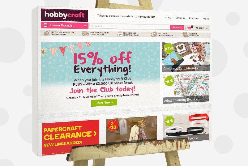 Buy craft supplies online - hobbycraft