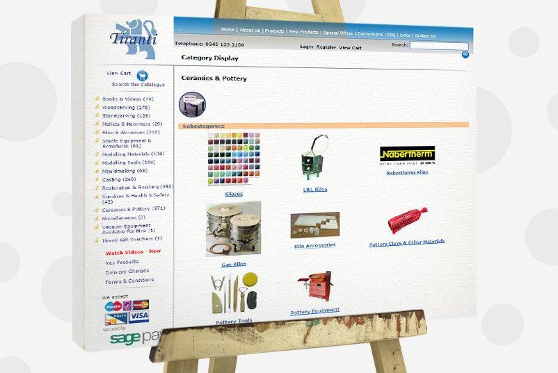 buy art supplies - tiranti
