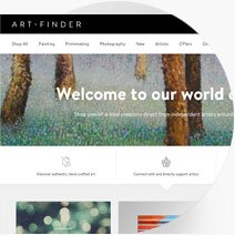Artfinder website