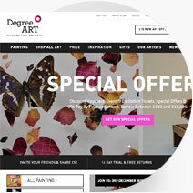 Degree Art website