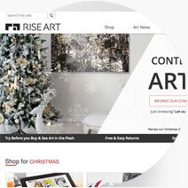 Rise Art Website