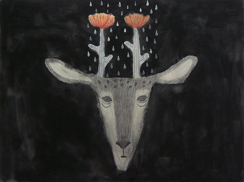 Wakabayashi - Flower Deer