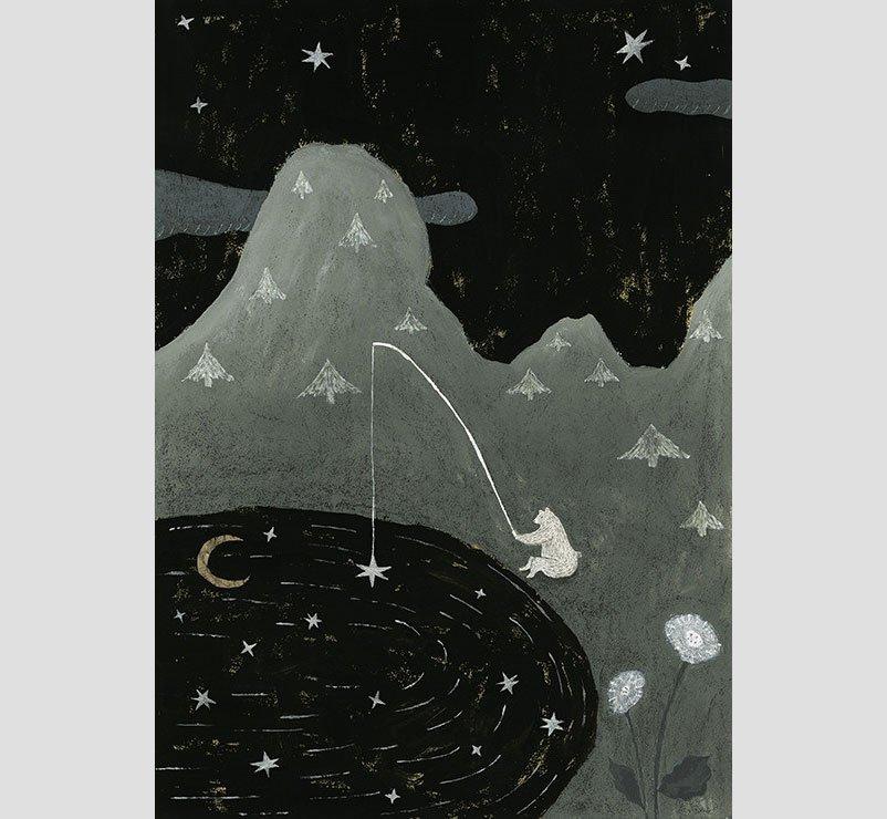 Wakabayashi Paintings - One Star
