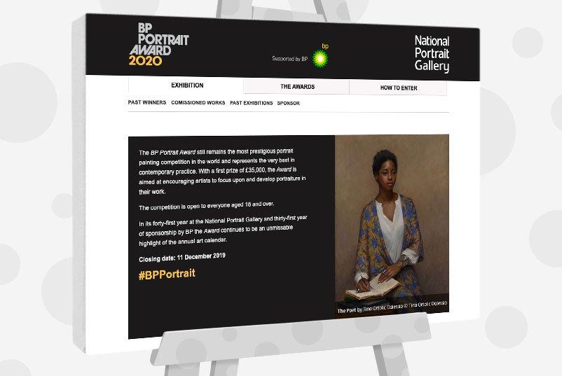 BP Portrait Award - UK Art Competition