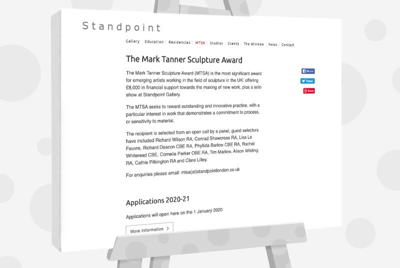 The Mark Tanner Sculpture Award - UK Art Competitions