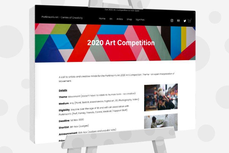 Parkinson's Art 2020 Art Competition