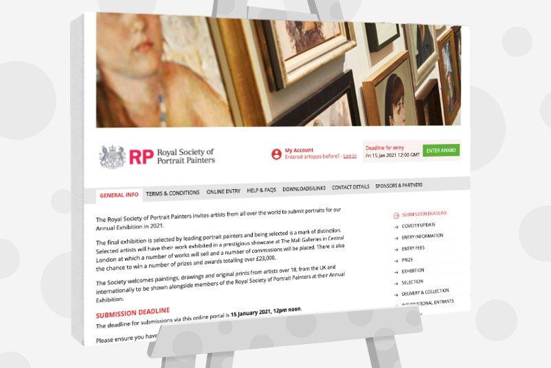 Royal Society of Portrait Painters Award