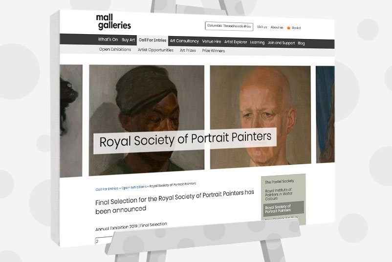 Uk Art Competitions - Royal Society of Portrait Painters Award