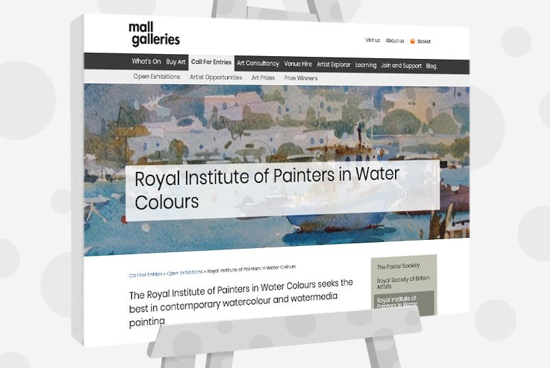 Royal Institute of Painters in Water Colours - UK Art Competition
