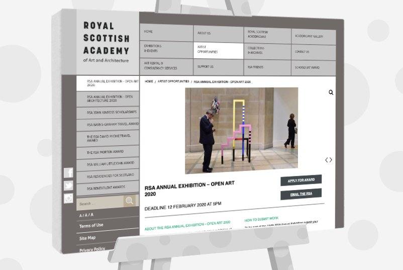 The Royal Scottish Academy of Art - Open Exhibition