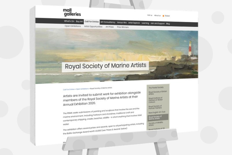 Royal Society of Marine Artists Annual Exhibition