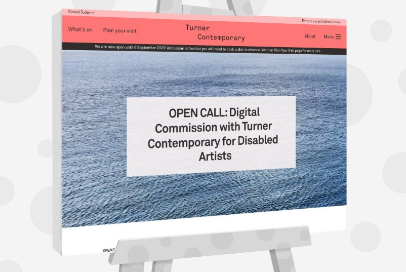 Turner Contemporary for Disabled Artists