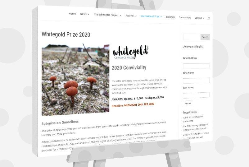 Whitegold Ceramics Prize