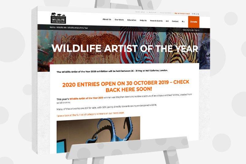 Wildlife Artist Of The Year