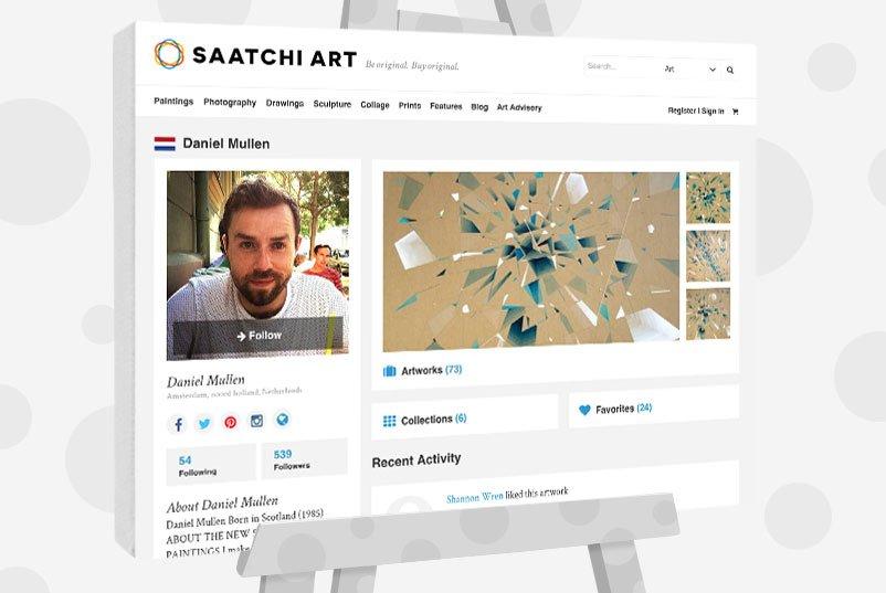 Daniel Mullen - Selling Work On Saatchi Art