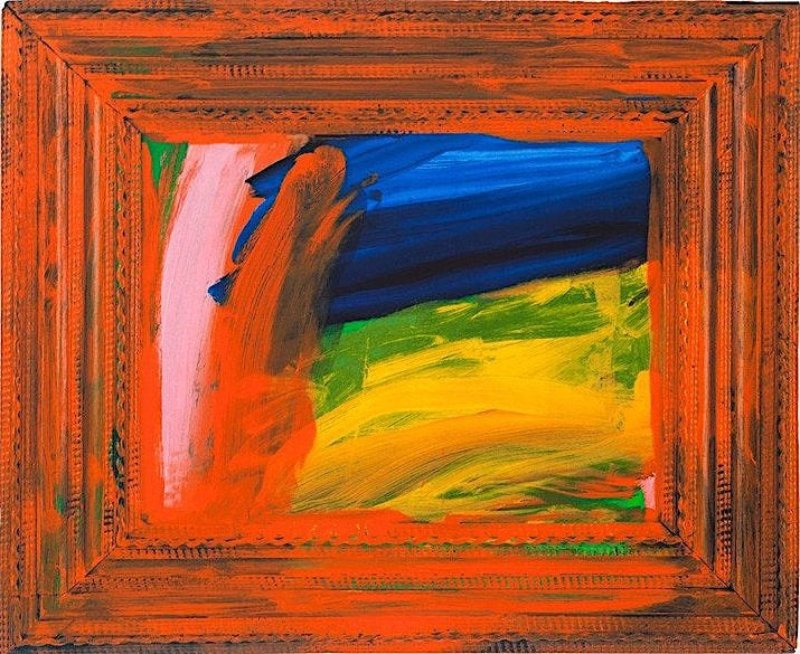Howard Hodgkin - Going for a Walk with Andrew Original