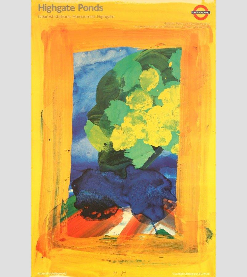 Howard Hodgkin Poster - Highgate Ponds