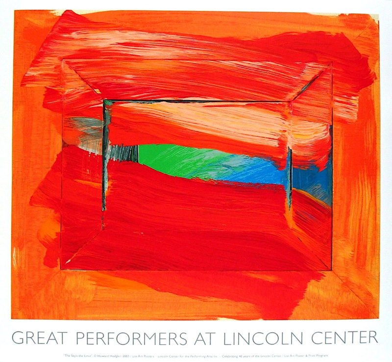 Howard Hodgkin - The Sky's The Limit Poster