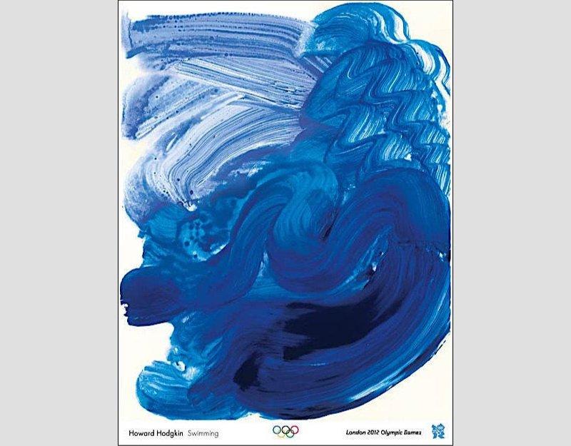 HOWARD HODGKIN - 'Swimming'