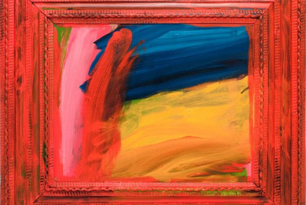 Howard Hodgkin - Going for a Walk with Andrew