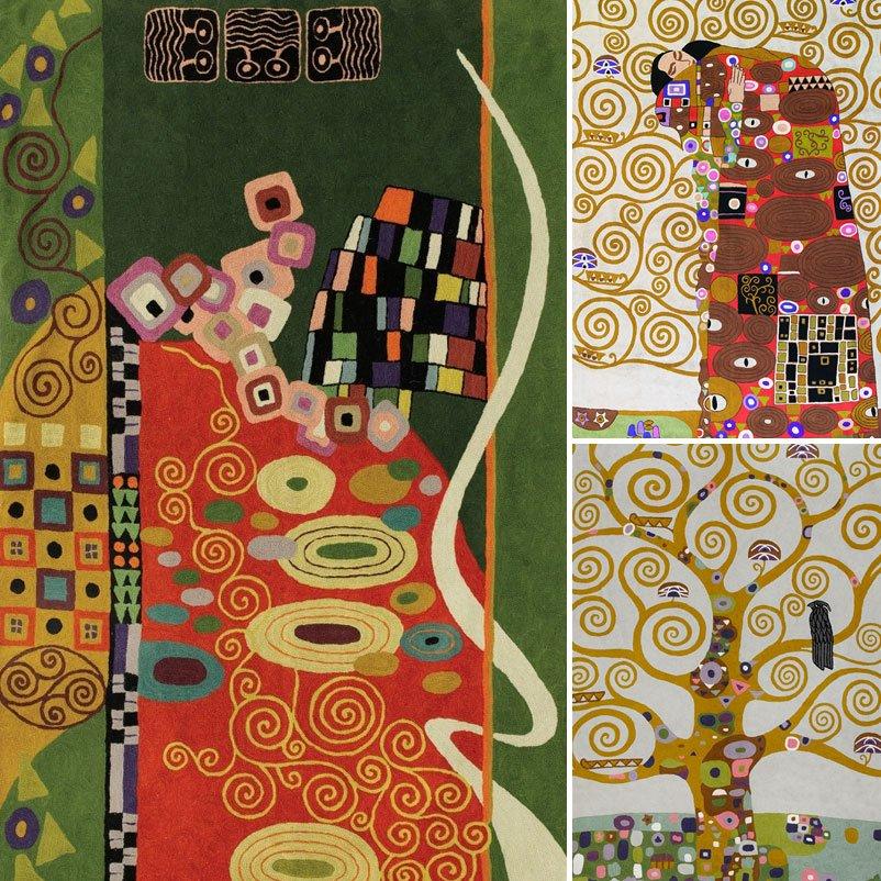 The Art Of Modern Art Rugs