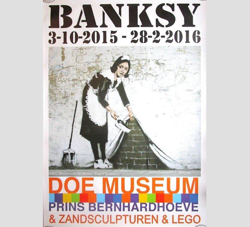 Banksy - Doe Museum Poster