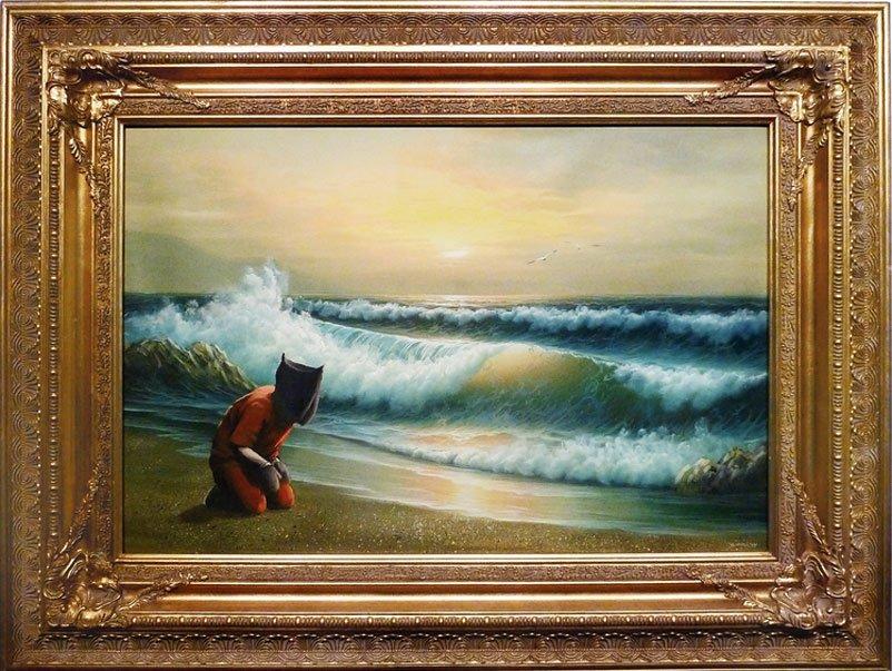 Banksy - Guantanamo Bay Painting