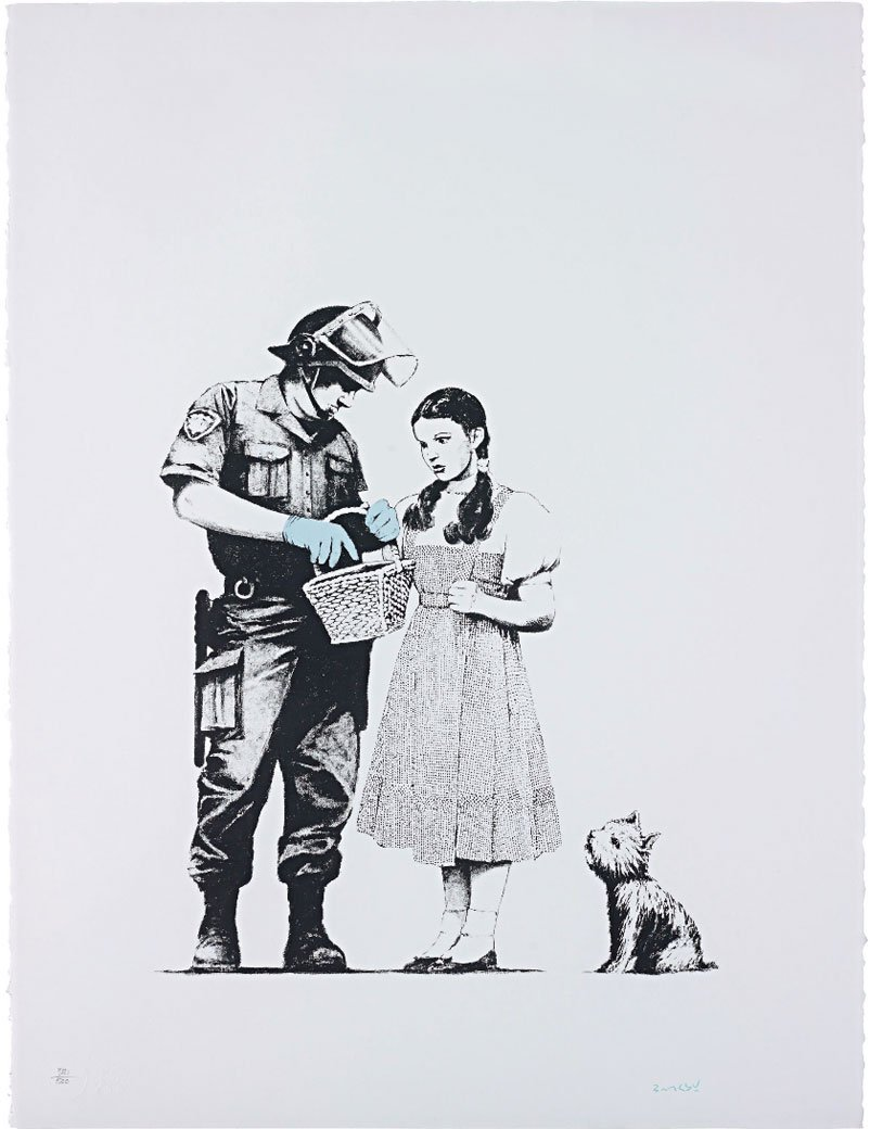 Banksy - Stop And Search