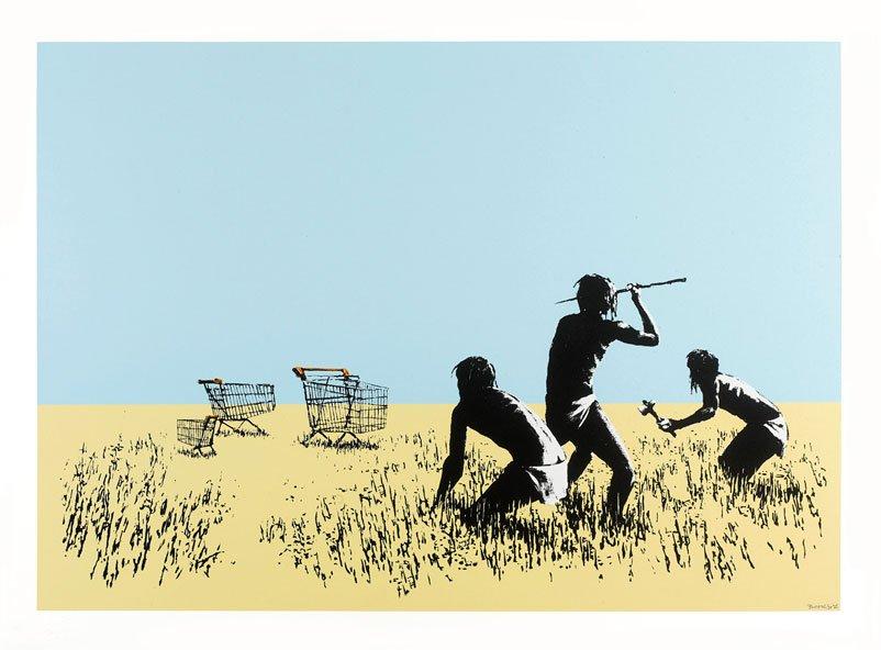 Banksy - Trolleys