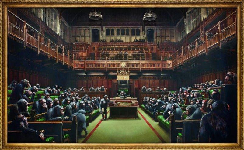Banksy - Devolved Parliament