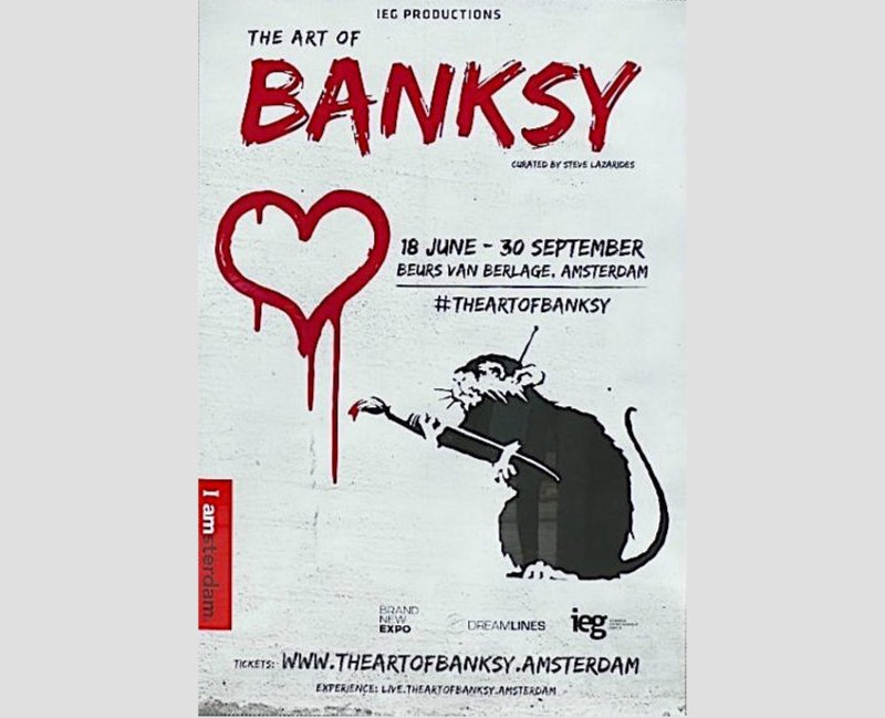 The Art Of Banksy Poster