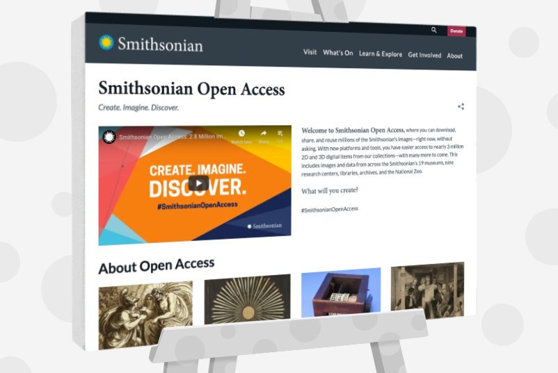 Smithsonian Open Access - Public Domain Images For Artists