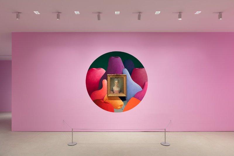 Nicolas Party - Pastel Installation View