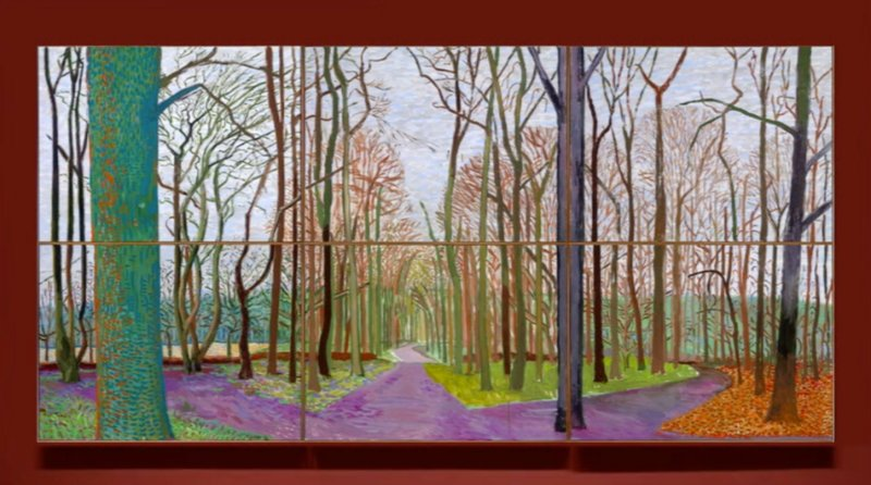 David Hockney Landscape