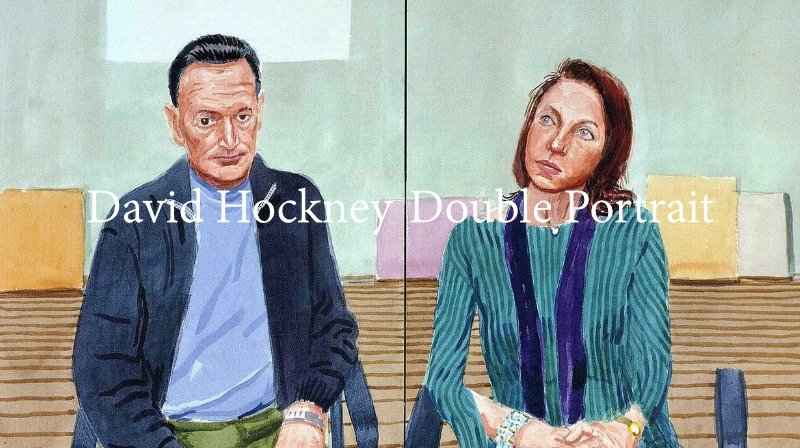 David Hockney - Double Portrait
