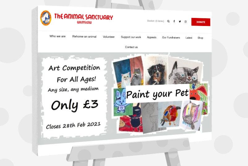 Paint your Pet Art Competition