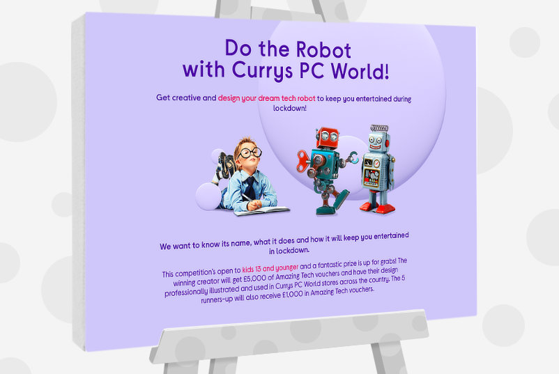 Do The Robot - Kids Art Competition