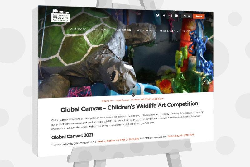 Global Canvas – Children's Wildlife Art Competition